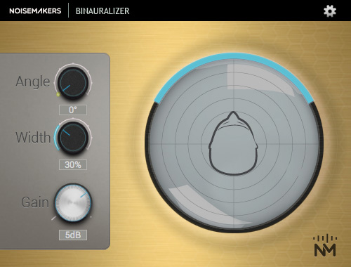 Binaural Audio Plugin Interface